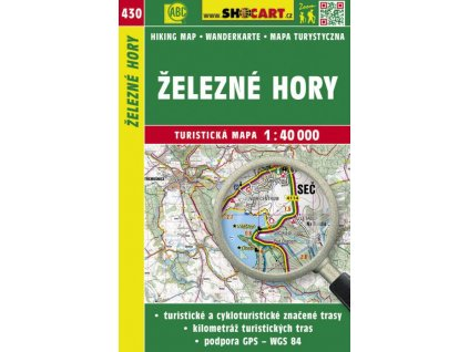 Železné hory - turistická mapa č. 430