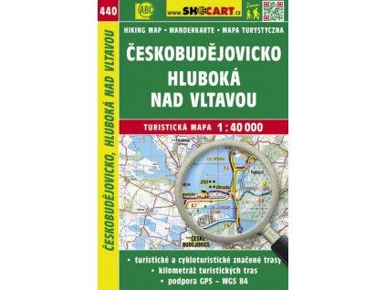Českobudějovicko, Hluboká nad Vltavou - turistická mapa č. 440