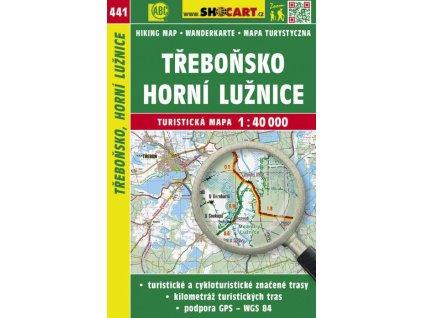 Třeboňsko, horní Lužnice - turistická mapa č. 441