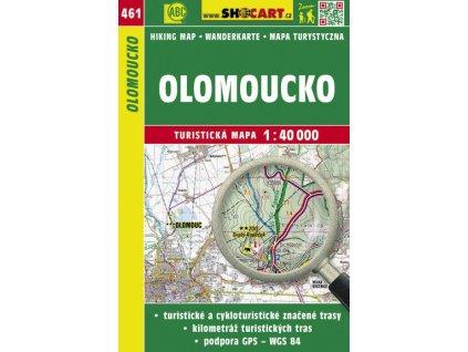 Olomoucko - turistická mapa č. 461