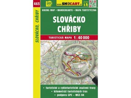 Slovácko - Chřiby - turistická mapa č. 463