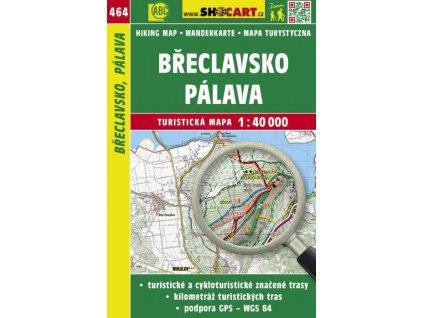 Břeclavsko, Pálava - turistická mapa č. 464