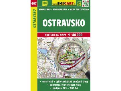 Ostravsko - turistická mapa č. 467