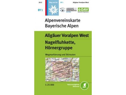 Allgäuer Voralpen West, Nagelfluhkette, Hörnergruppe (DAV 1)