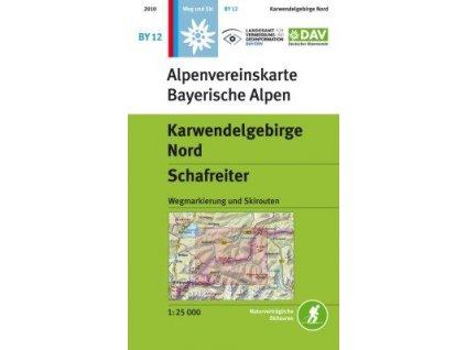 Karwendelgebirge Nord, Schafreiter  (DAV 12)