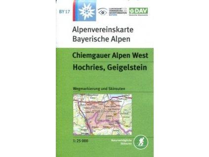Chiemgauer Alpen West, Hochries, Geigelstein  (DAV 17)