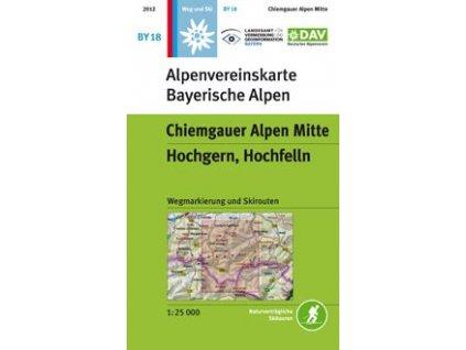 Chiemgauer Alpen Mitte,  Hochgern, Hochfelln (DAV 18)