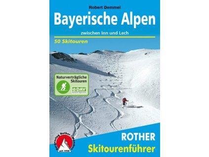 Bayerische Alpen - skialpinistický průvodce