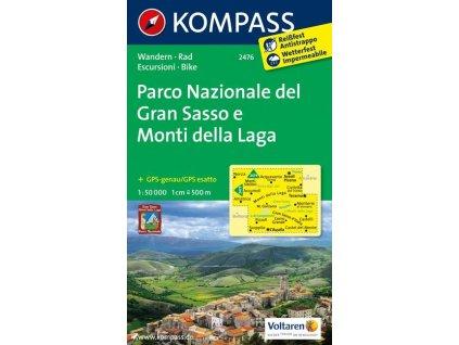 Parco Nazionale del Gran Sasso e Monti della Laga (Kompass - 2476)