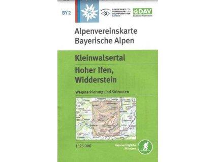 Kleinwalsertal, Hoher Ilfen, Widderstein (DAV 2)