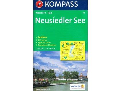 Neusiedler See, Neziderské jezero (Kompass - 215)