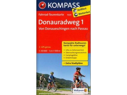 Donauradweg , Dunajská cyklostezka 1 (Kompass – 7009)