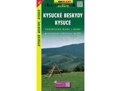KysuckéBeskydy.Kysúce - turistická mapa (shocart č.1077)