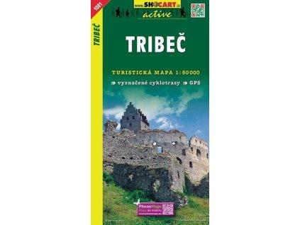 Tríbeč - turistická mapa (shocart č.1081)
