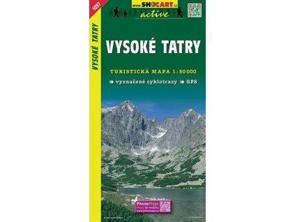 VysokéTatry - turistická mapa (shocart č.1097)