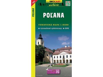 Poľana - turistická mapa (shocart č.1101)