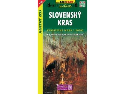 Slovenskýkras - turistická mapa (shocart č.1108)