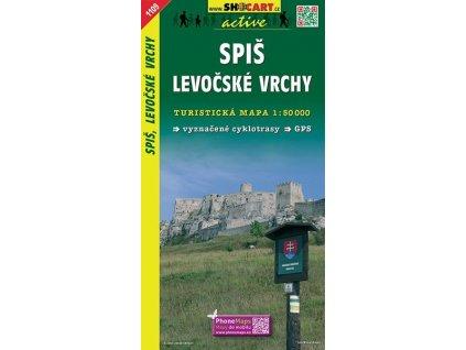 Spiš,Levočskévrchy - turistická mapa (shocart č.1109)