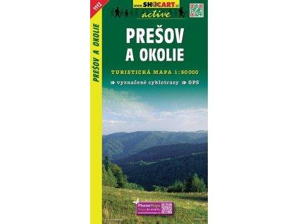 Prešovaokolie - turistická mapa (shocart č.1112)