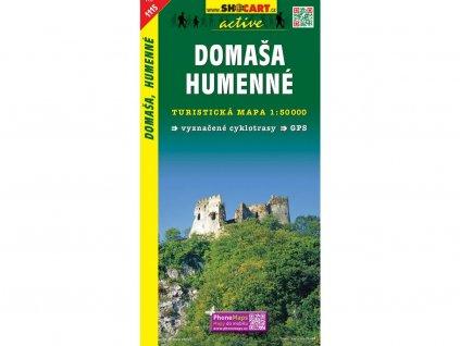 Domaša,Humenné - turistická mapa (shocart č.1115)
