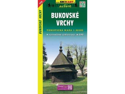 Bukovskévrchy - turistická mapa (shocart č.1119)