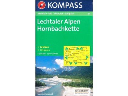 Lechtaler Alpen, Hornbachkette (Kompass - 24)
