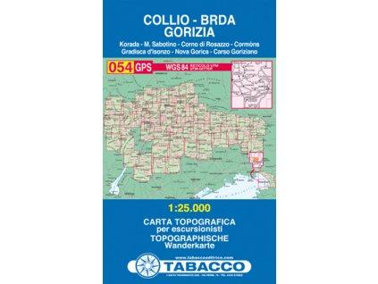 Collio, Brda, Gorizia (Tabacco - 054)