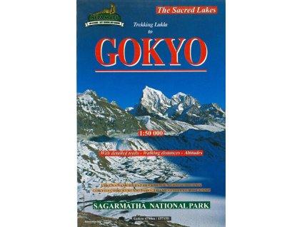 Lukla to Gokyo - trekingová mapa