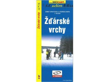Žďárské  vrchy - zimní turistická a lyžařská mapa
