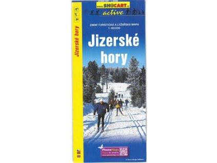 Jizerské hory - zimní turistická a lyžařská mapa
