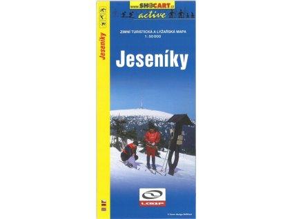 Jeseníky - zimní turistická a lyžařská mapa