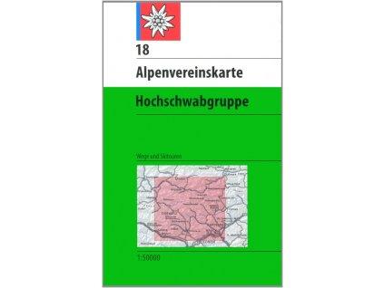 Hochschwabgruppe (letní + zimní) (AV18)