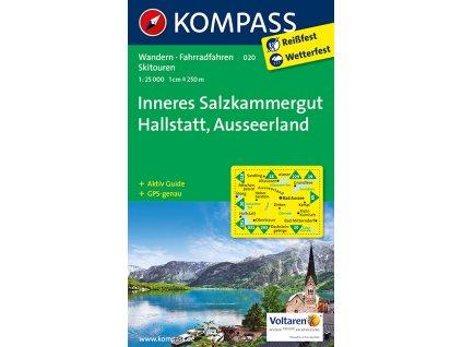 Inneres Salzkammergut, Hallstatt, Ausseerland - (Kompass 020)
