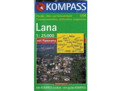 Lana, Etschtal, Val di Adige (Kompass - 054)