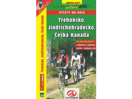 Třeboňsko, Jindřichohradecko, Česká Kanada – cykloprůvodce