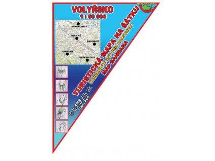 Volyňsko - mapa na šátku