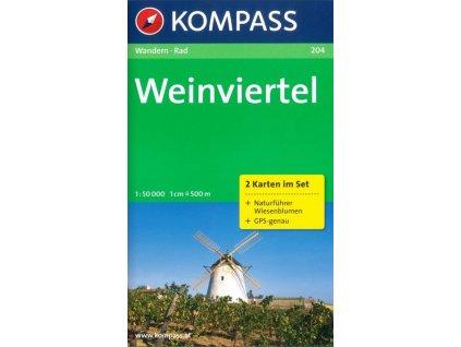 Weinviertel – set 2 map (Kompass č. 204)