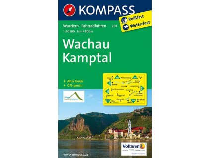 Wachau, Kamptal (Kompass - 207)