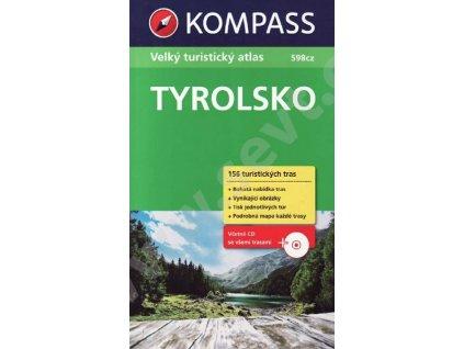 Tyrolsko, velký turistický průvodce (Kompass)