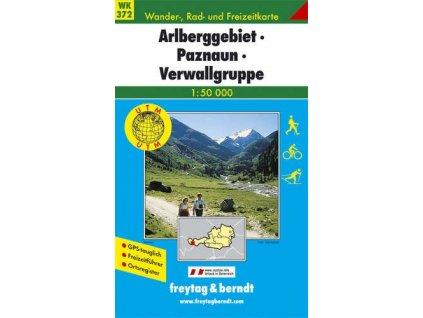 Arlberggebiet, Paznaun, Verwallgruppe (WK372)