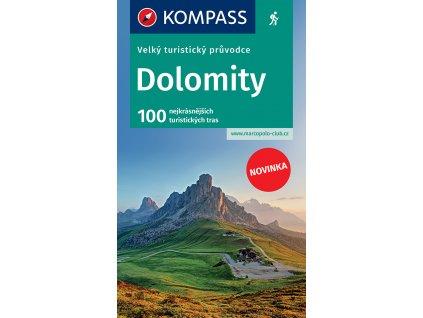 Dolomity - velký turistický průvodce