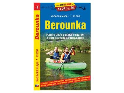 Berounka - vodácká mapa