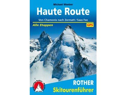 Haute Route - skialpinistický průvodce