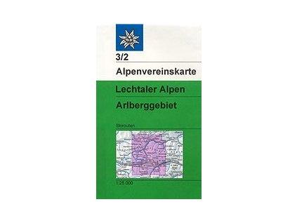 Lechtaler Alpen, Arlberg (zimní) – AV3/2