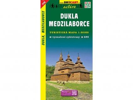 Dukla,Medzilaborce - turistická mapa (shocart č.1116)