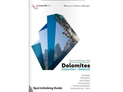 Sportclimbing in the Dolomites - horolezecký průvodce