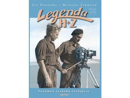 Legenda  H+Z a Legenda Z+H - komplet knih
