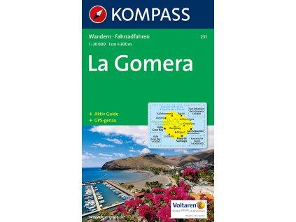 La Gomera - turistická mapa (Kompass č. 231)