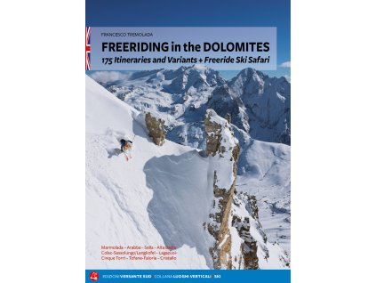 Freeriding in the Dolomites - skialpinistický průvodce
