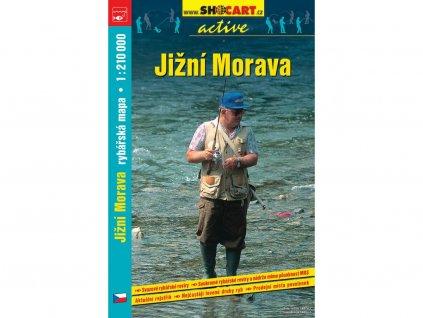Jižní Morava - rybářská mapa